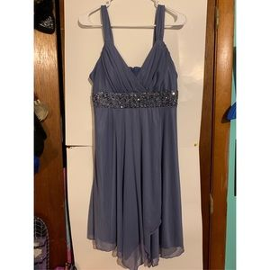 Women's Periwinkle Formal Dress